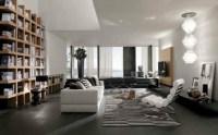 Le salon moderne inspir par l'lgance italienne