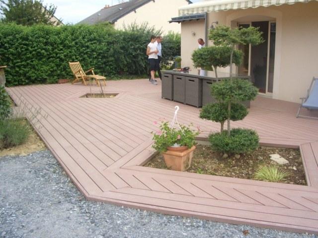 100 lame bois pour terrasse u2013 terrasse - Lames de terrasse en bois pas cher ...