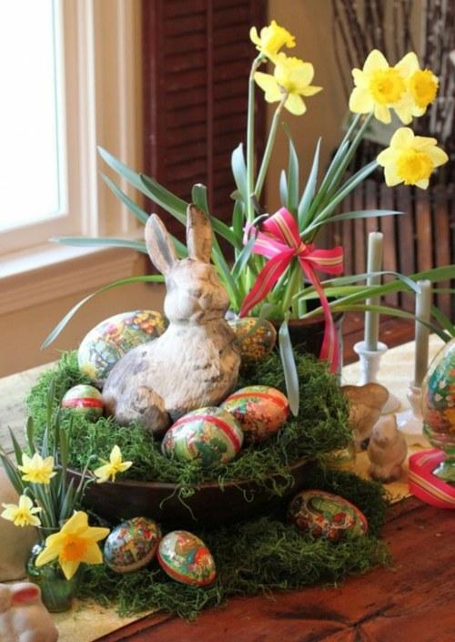 La dcoration vintage Pques  parfaite pour le printemps