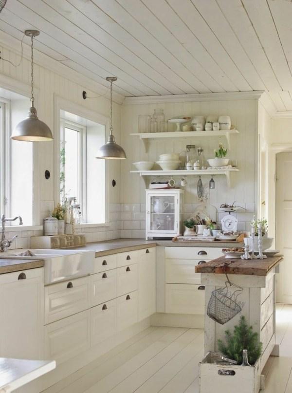 Concevoir une dcoration de cuisine campagnarde et lgante