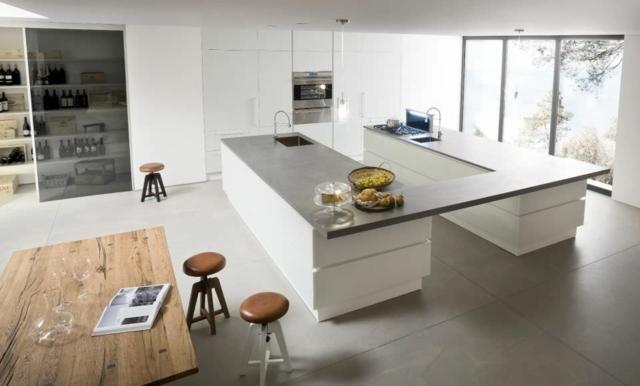 107 ides de lot central de cuisine fonctionnel et convivial