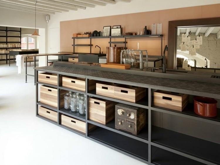 cuisine moderne avec ilot central