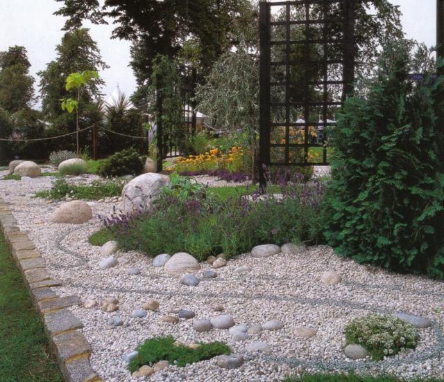 Dcoration de jardin en pierre en 31 ides inspirantes