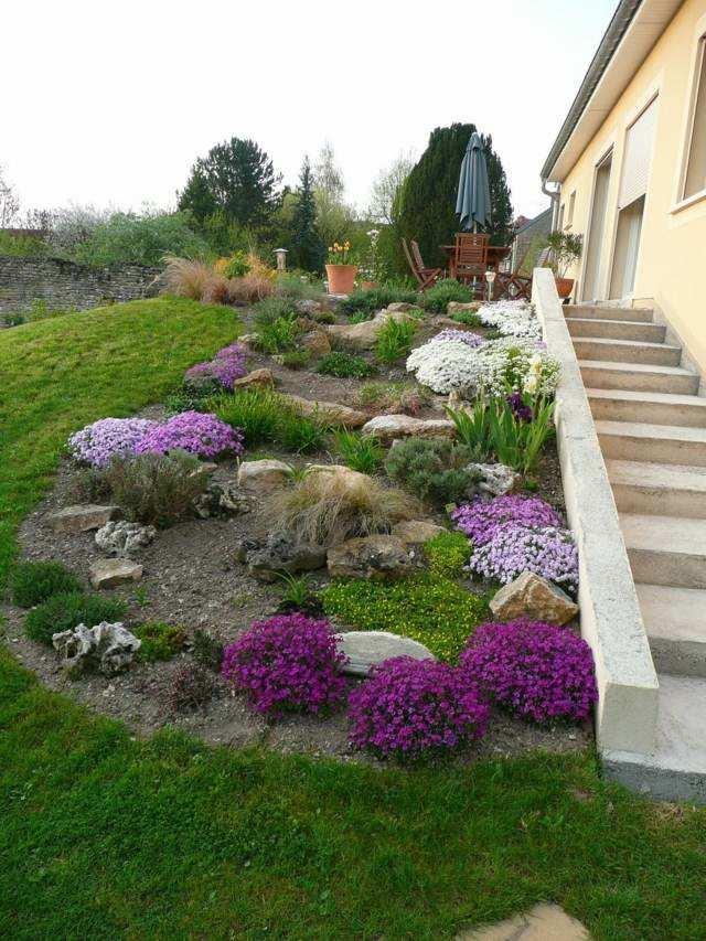Dcoration de jardin en pierre en 35 ides super sympas