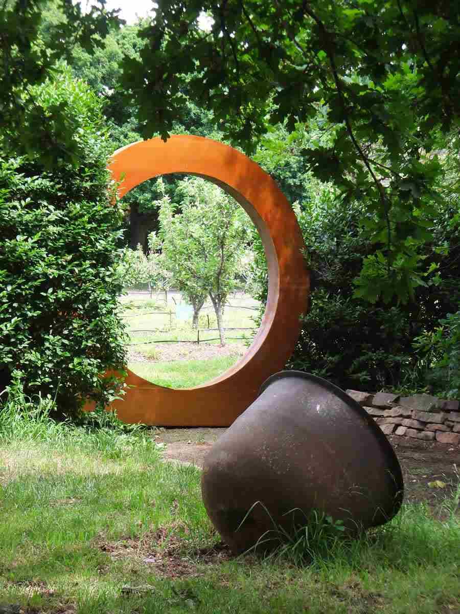 Acier Corten  la star moderne du jardin