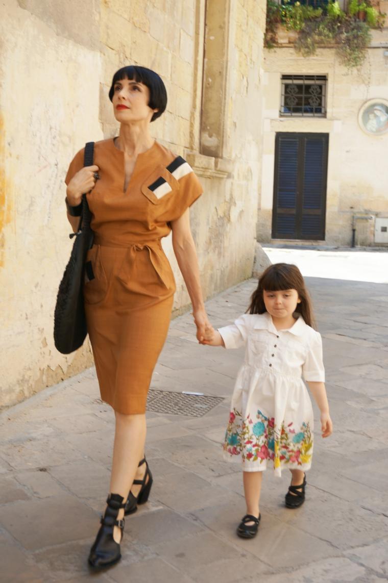 Look vintage femme  une tendance mondiale