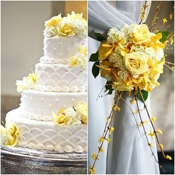 Dcoration de mariage estivale et frache