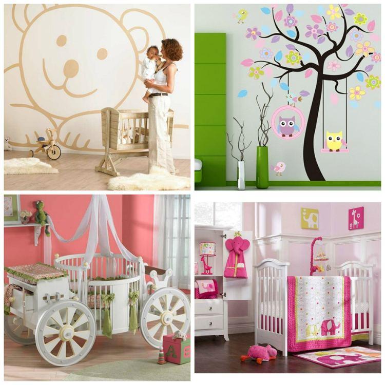 Dcoration chambre bb fille 99 ides photos et astuces
