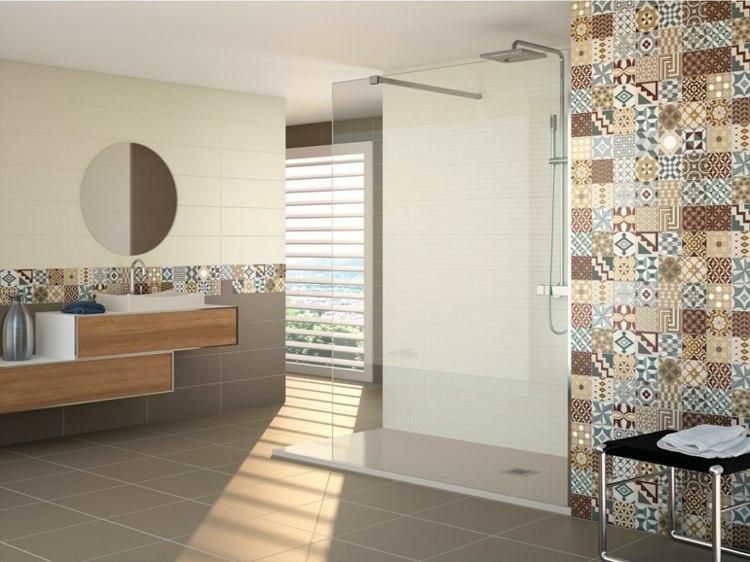 Carrelage mural salle de bain ides et astuces design