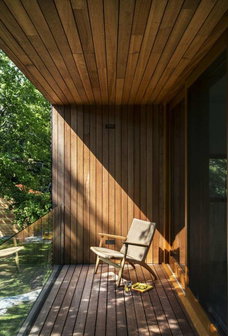Ide amnagement extrieur dco de la terrasse en bois