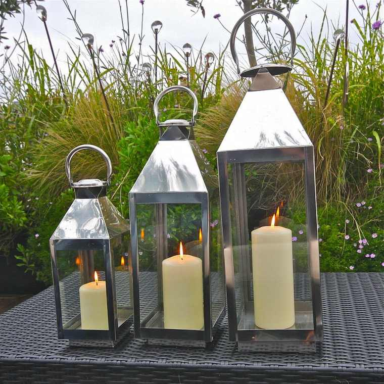 Lanterne De Jardin Dcorer Son Jardin Avec De La Lumire