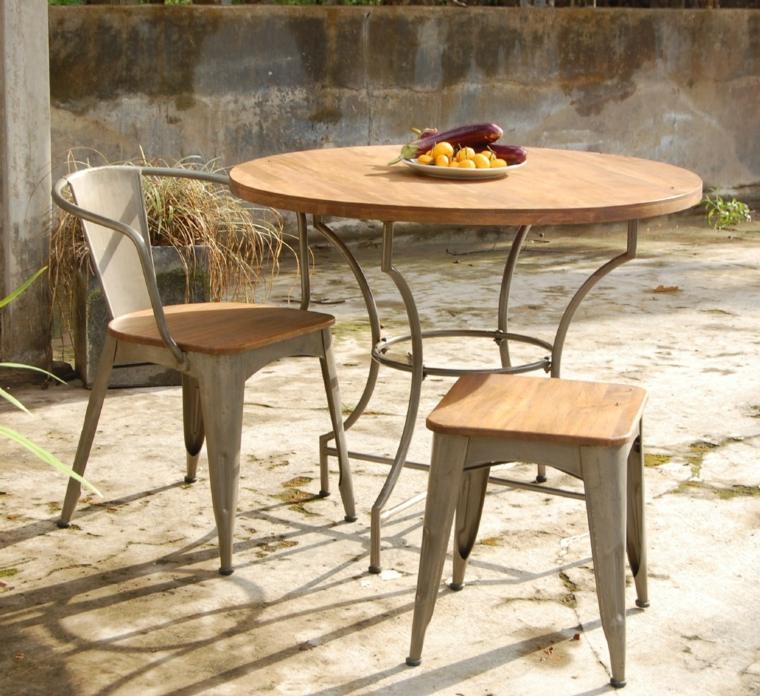 Table De Jardin Ronde Esthtique Symbolique Pratique
