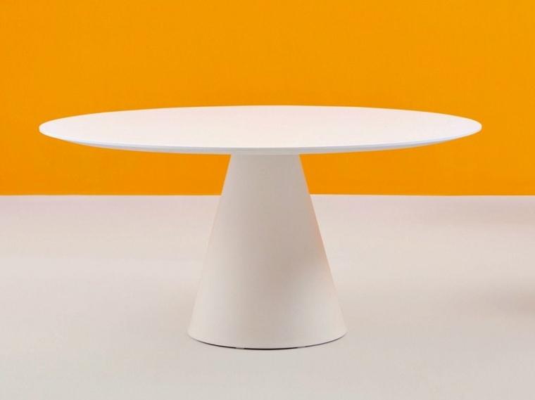 table de jardin ronde esthetique