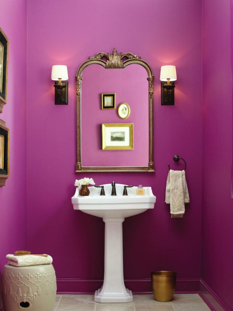 Associer les couleurs dans la salle de bain avec du got
