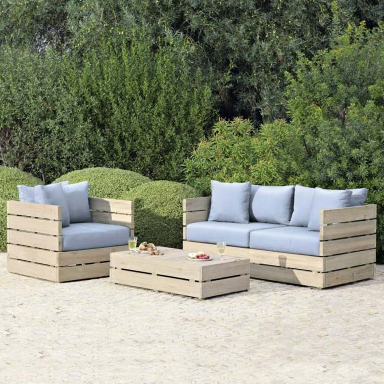 Idee Fabrication Salon De Jardin - Idées de décoration d ...
