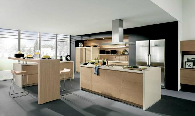 plan de travail cuisine blanche. meuble de cuisine avec plan de ... - Cuisine Blanche Avec Plan De Travail Bois