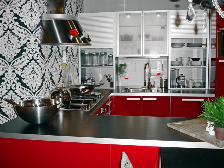 Element Cuisine Rouge Laque