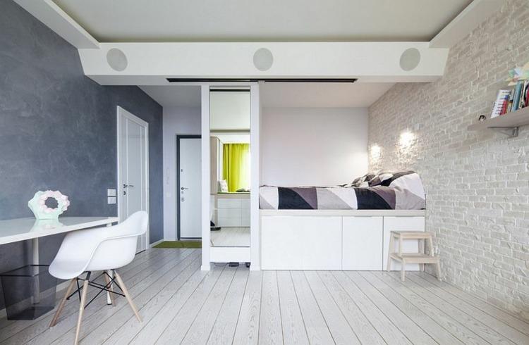 Dcoration scandinave pour chambre  coucher moderne