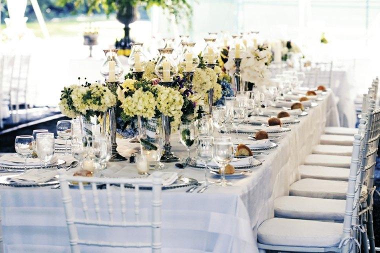 Dco table mariage  45 compositions florales pour lt