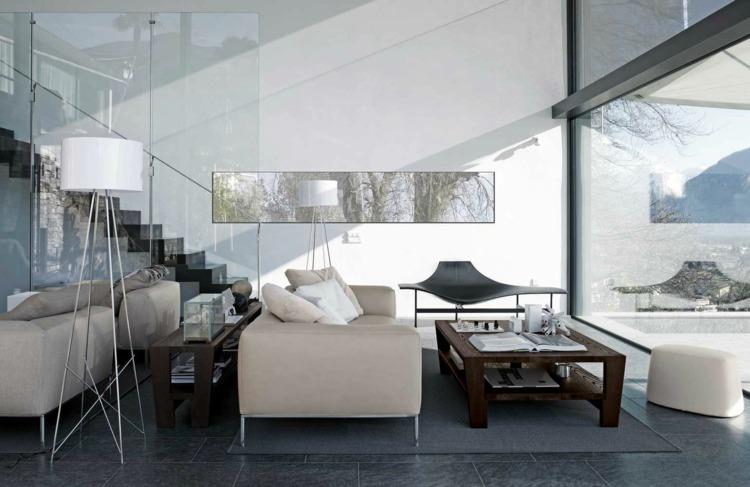 Dcoration intrieur salon blanc 48 ides de dco moderne