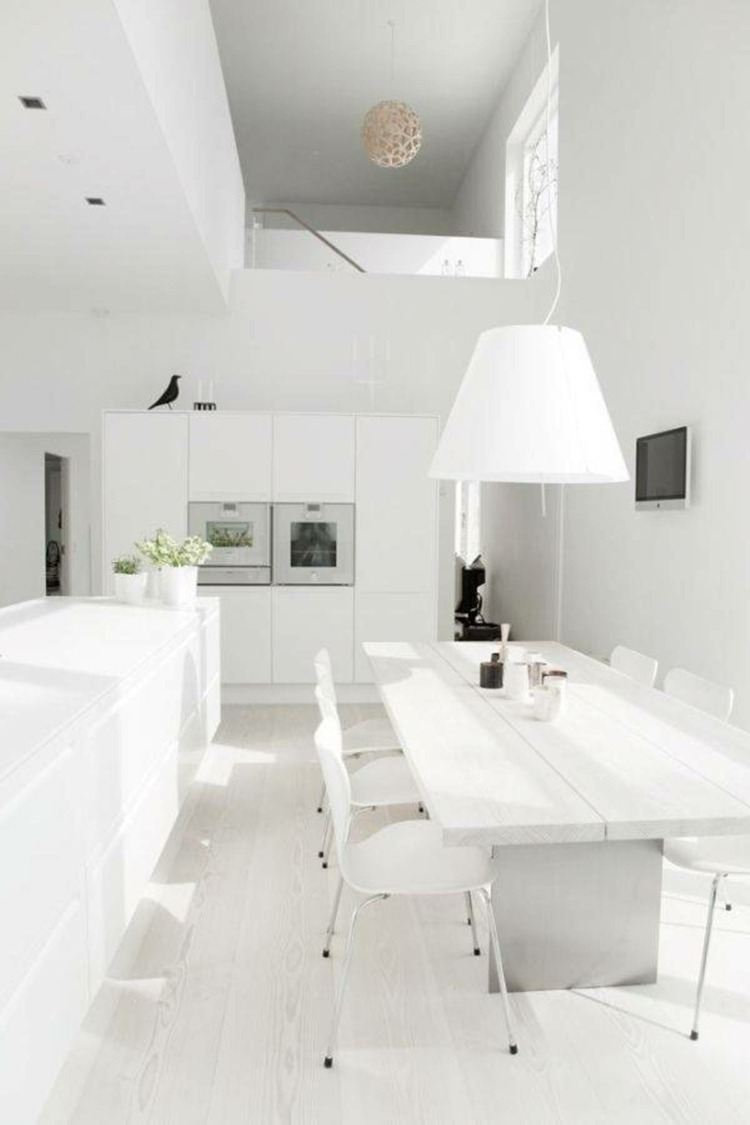 cuisine moderne blanche