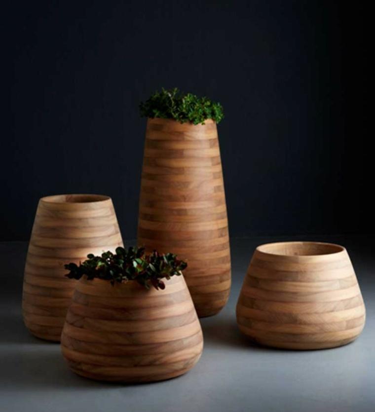 Ide jardin moderne  dcoration avec pot de fleur design