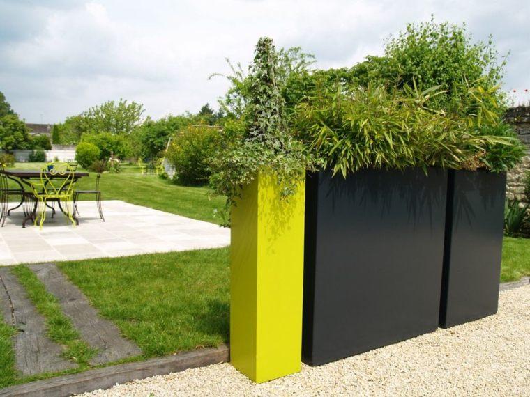 Idee Deco Jardin Moderne | Miroir Extérieur Pour Une Déco De ...