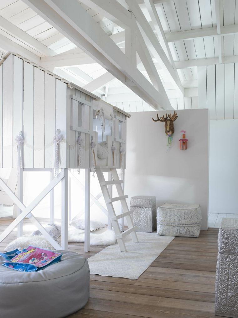 Le lit cabane fille  ides en images