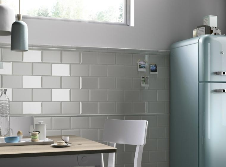Idee Faience Cuisine Blanc Sol Gris - Décoration de maison idées de ...