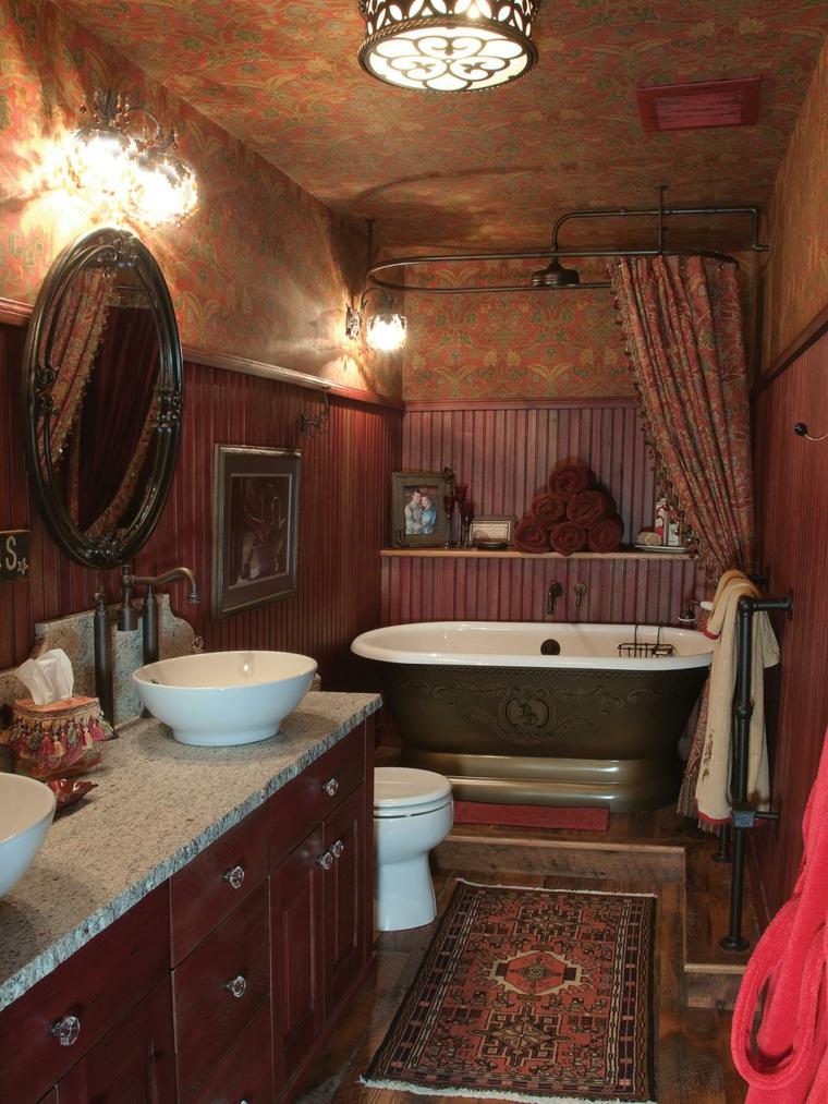 Dco toilette et salle de bain frache originale lgante