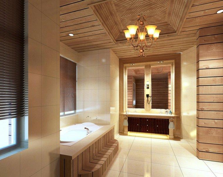 Salle de bain en bois en plus de 50 ides