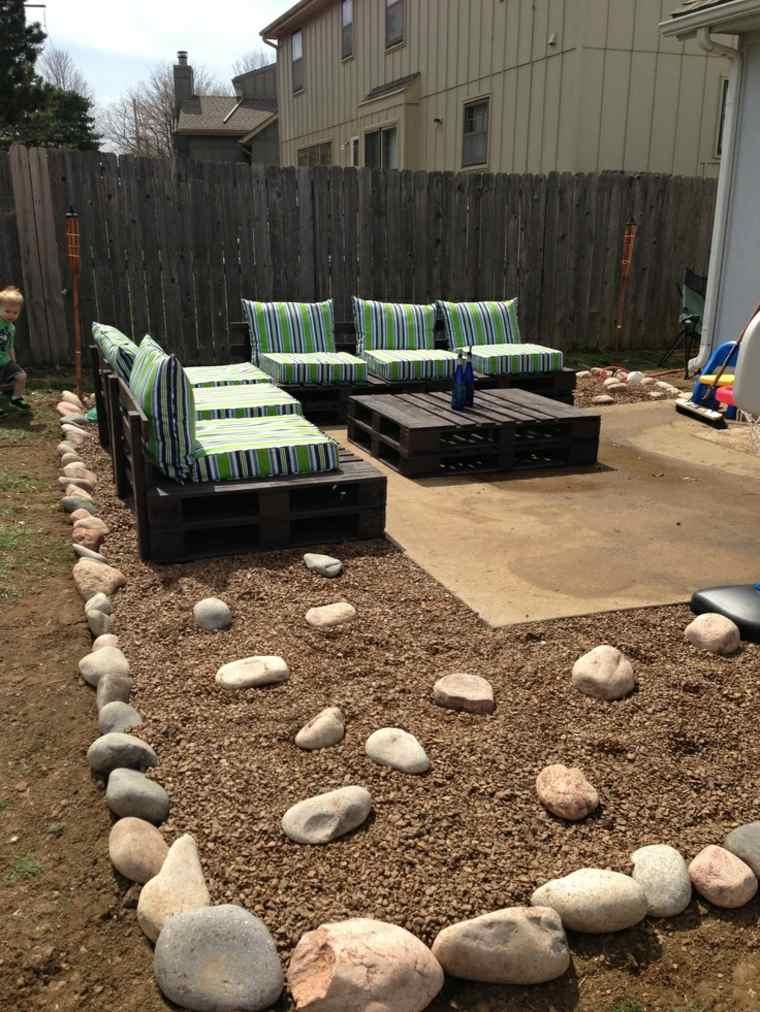 Salon de jardin en palette  le mobilier extrieur colo
