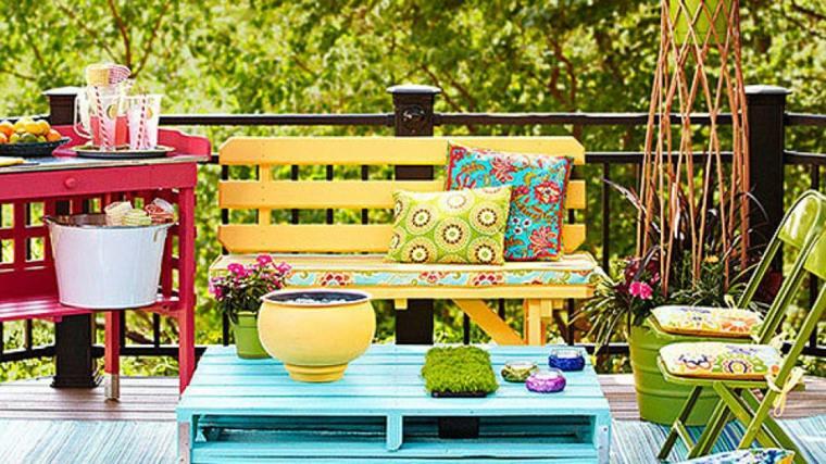 le salon de jardin en palette en plus