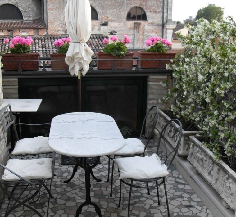 Tables de jardin en marbre et pierre  durables et esthtiques