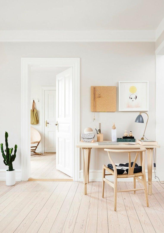 Bureau scandinave  50 ides pour un coin de travail pratique