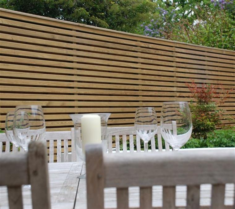 Clture de jardin en bois  75 ides pour faire un bon choix