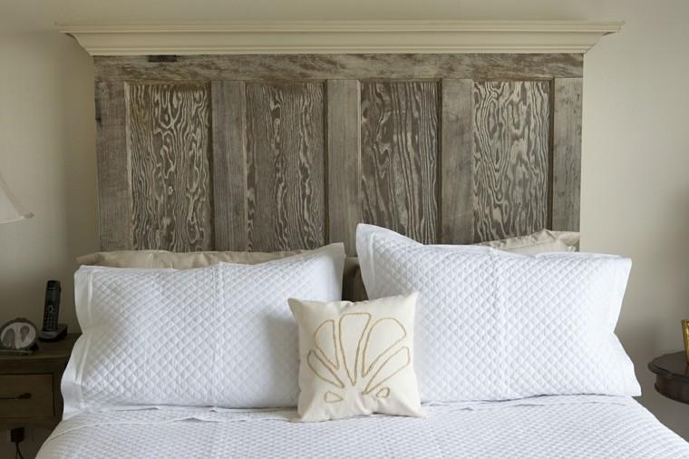 Fabriquer une tte de lit en bois avec une porte