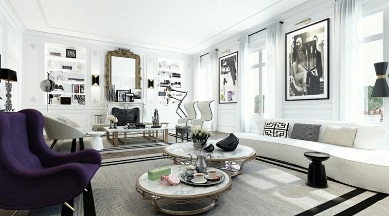 Intrieur Maison 3 Exemples De Dcoration En Blanc