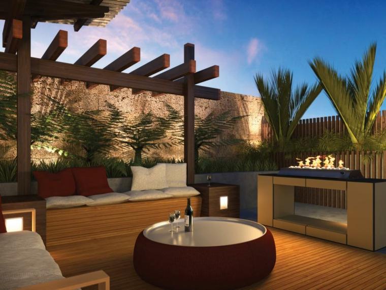 Patio et petit jardin moderne  des ides de design dextrieur