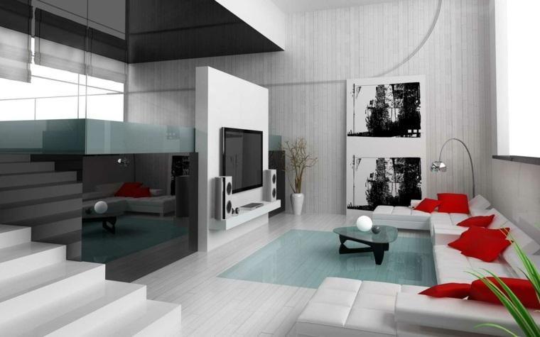 Salon moderne gris  harmonie esthtique