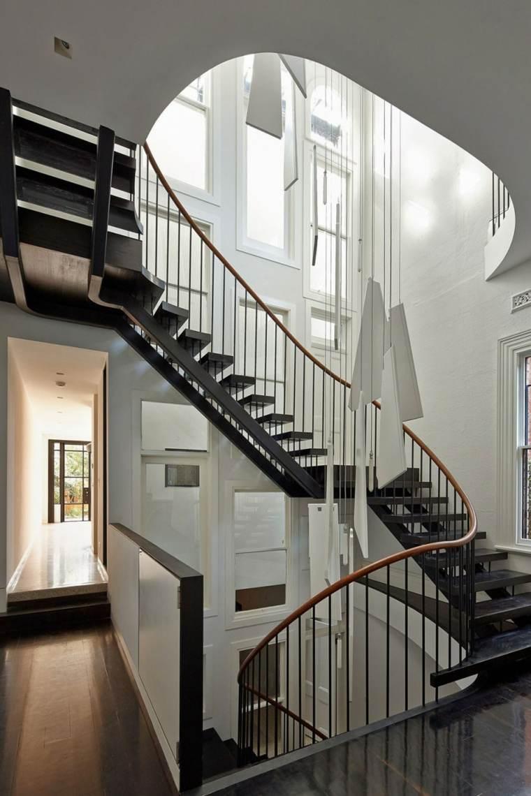Dco cage escalier  50 intrieurs modernes et contemporains