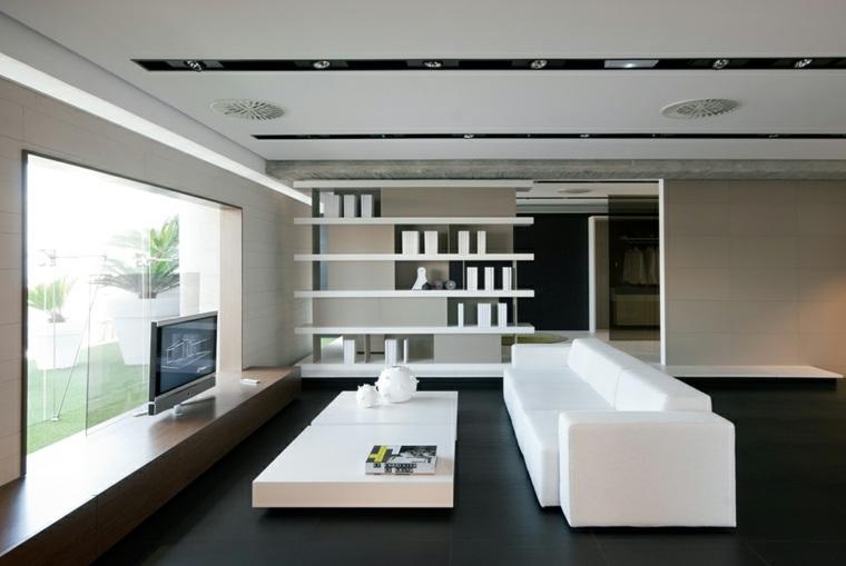 Carrelage salon pour un intrieur contemporain