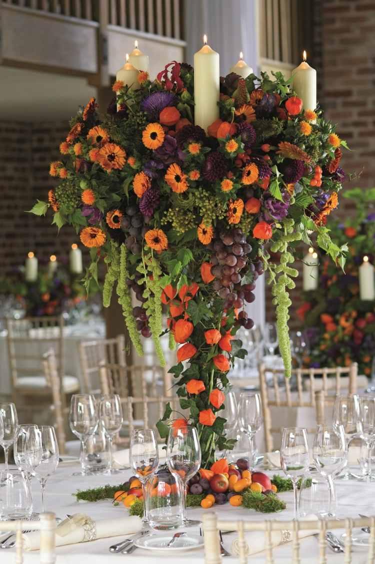 Ides De Dcoration Salle De Mariage Avec Des Fleurs