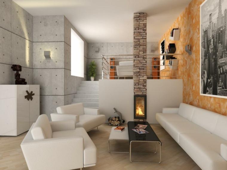Chemine moderne  60 ides de dcoration dintrieur convivial