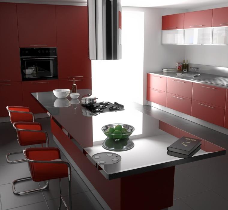 modele cuisine bois moderne