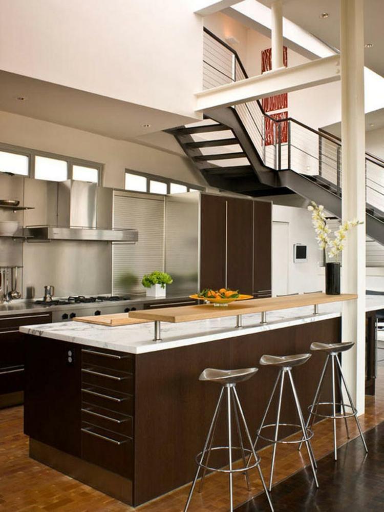 Petite cuisine ouverte la rendre encore plus belle et confortable