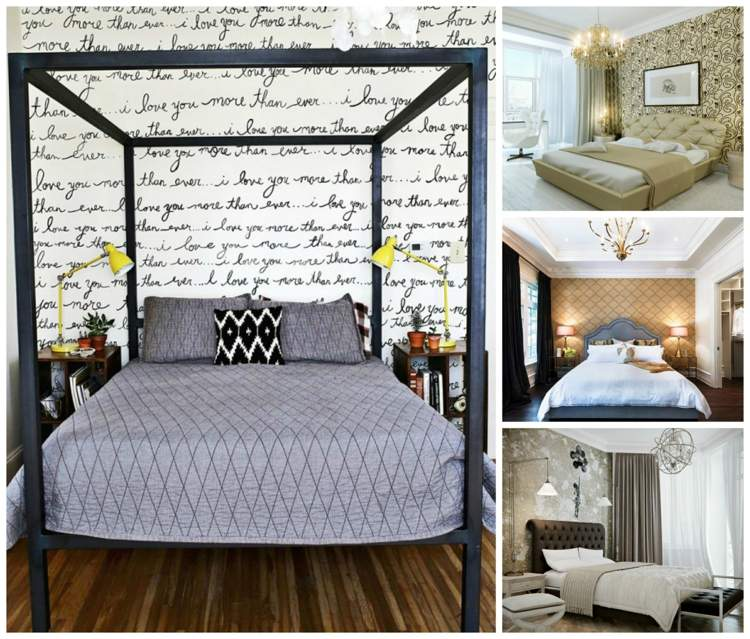 deco mur chambre a coucher idees