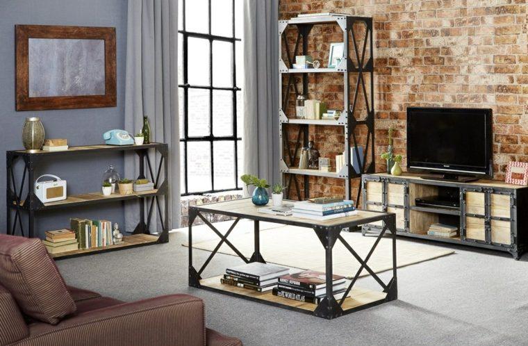 Personnalisez Votre Salon Avec Le Meuble Tv Industriel