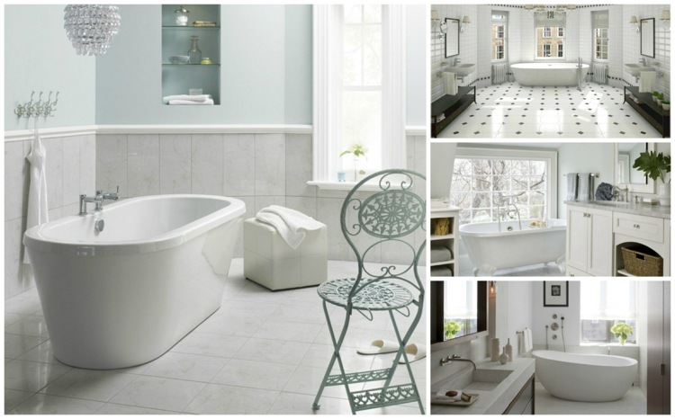 faience salle de bain blanche idees
