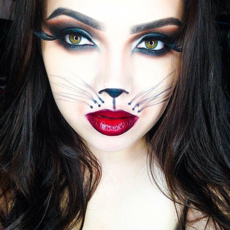 Beaute Maquillage Maquillage De Halloween Minimaliste L